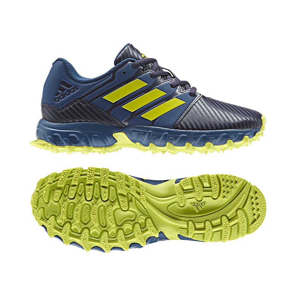 Adidas K's Junior Blue/Yellow Hockeyschoenen