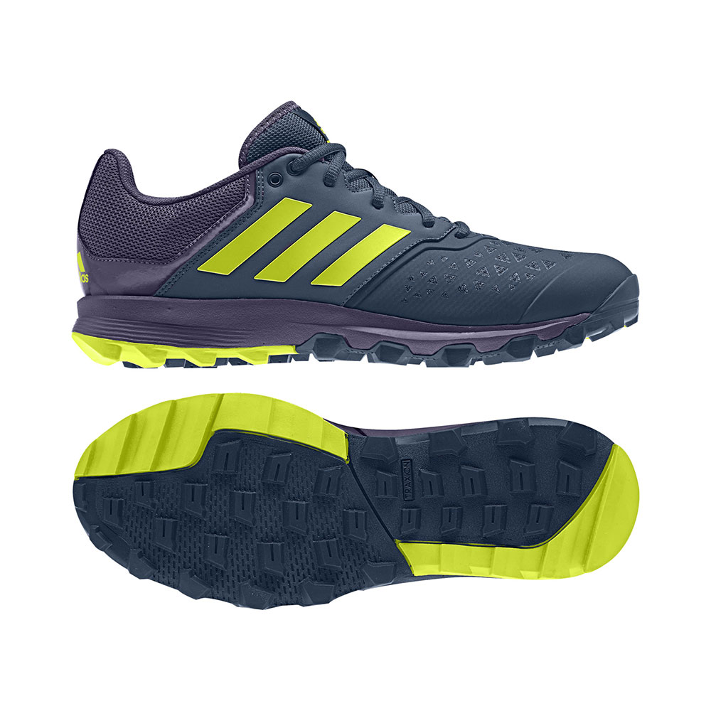 Adidas M's FlexCloud Blue/Yellow Hockeyschoenen