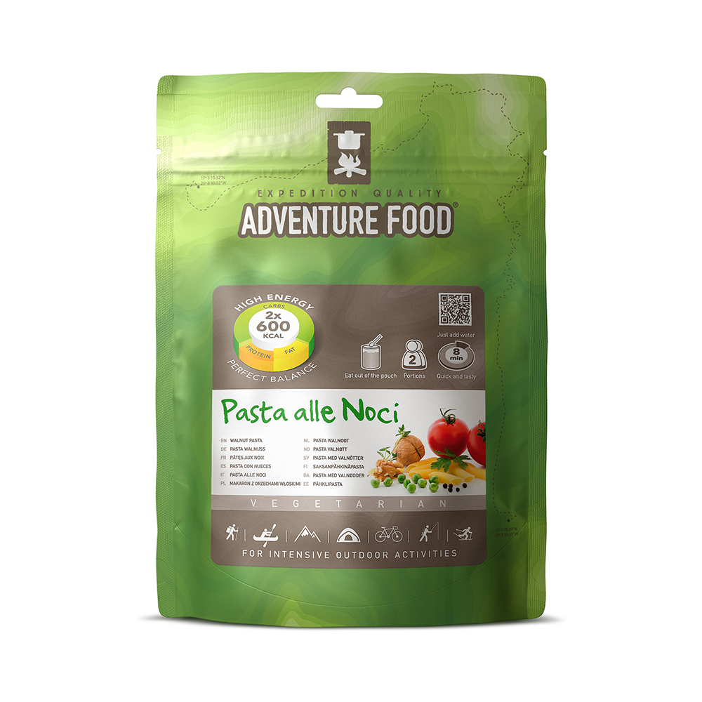 Adventure Food Pasta Walnoten 2p