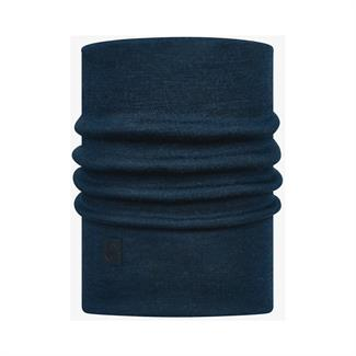 Buff Heavyweight Merino Wool Solid Denim