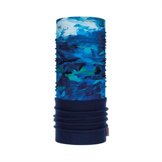 Buff K's Polar High Mountain Blue Nekwarmer
