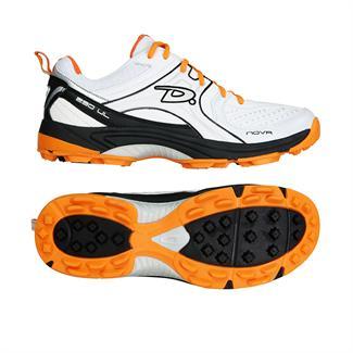 Dita W's Nova wit zwart oranje hockeyschoen