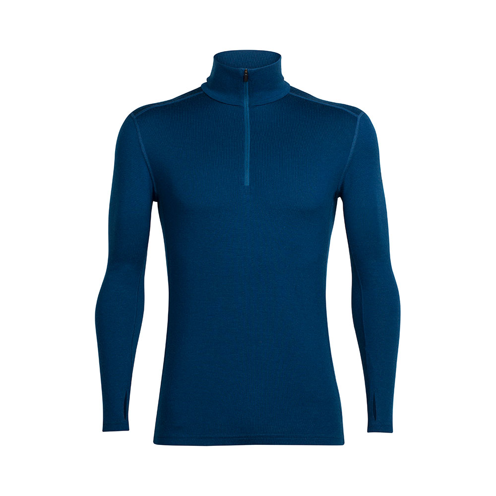 Icebreaker M's Tech Top LS Half Zip
