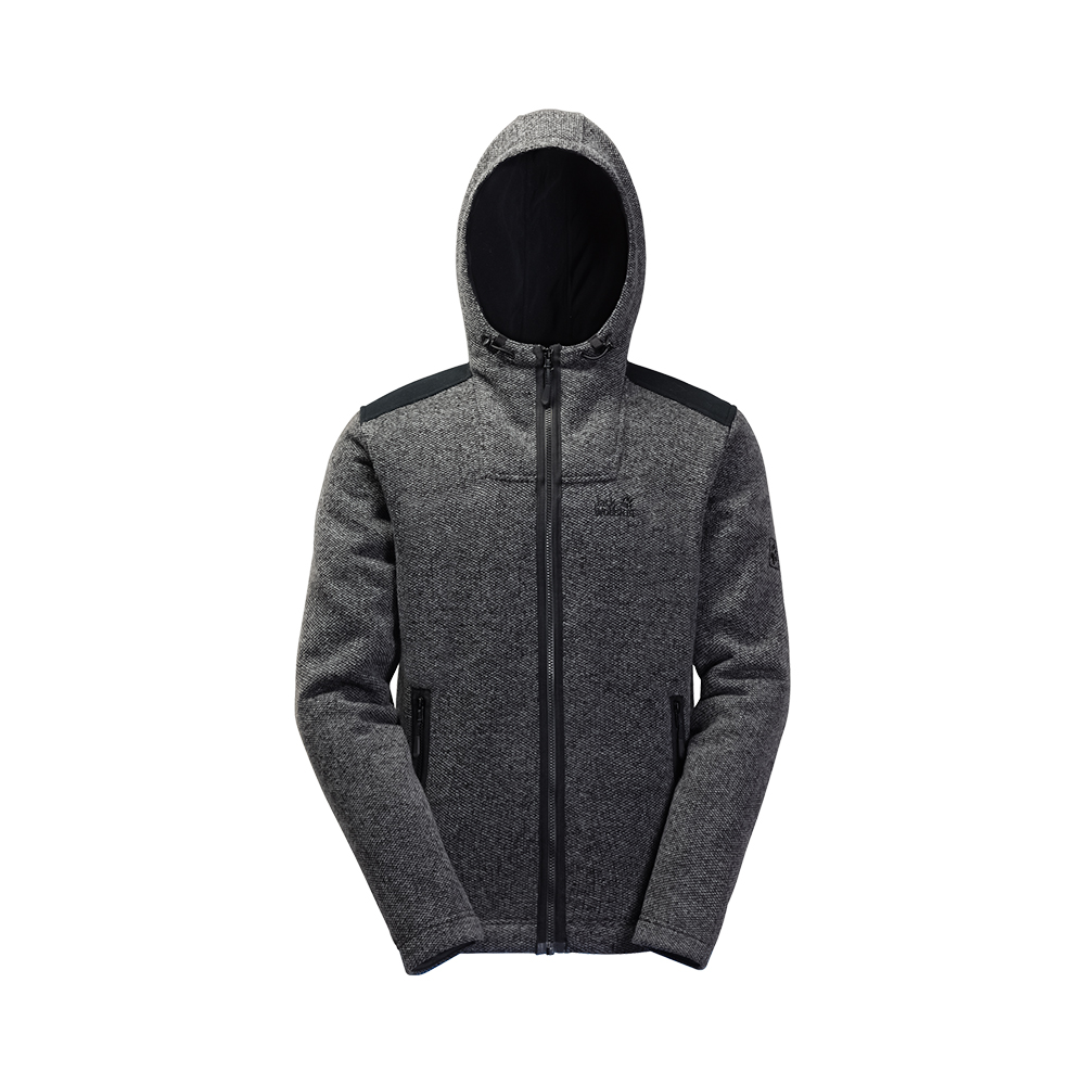 Jack Wolfskin M's Black Castle fleece