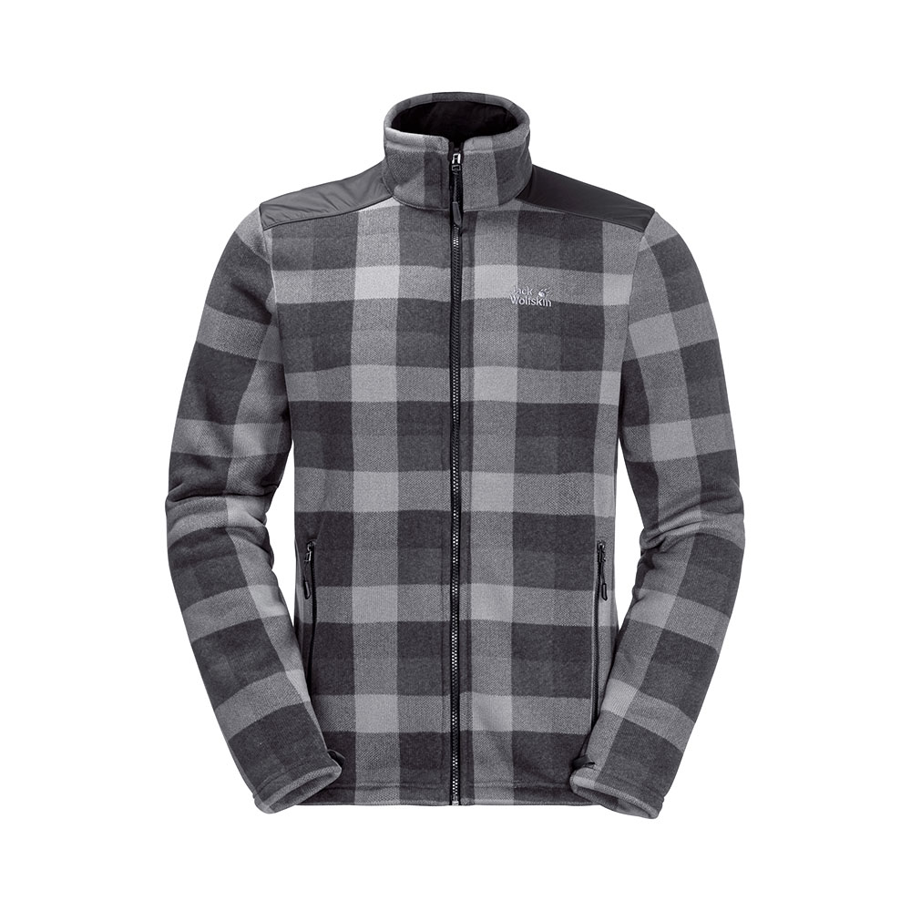 Jack Wolfskin M's Cabot Check Fleece