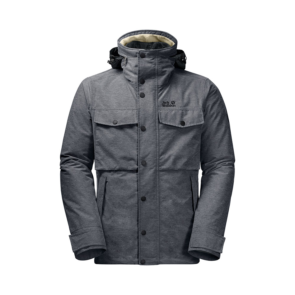 Jack Wolfskin M's Fraser Canyon 3in1 Jacket