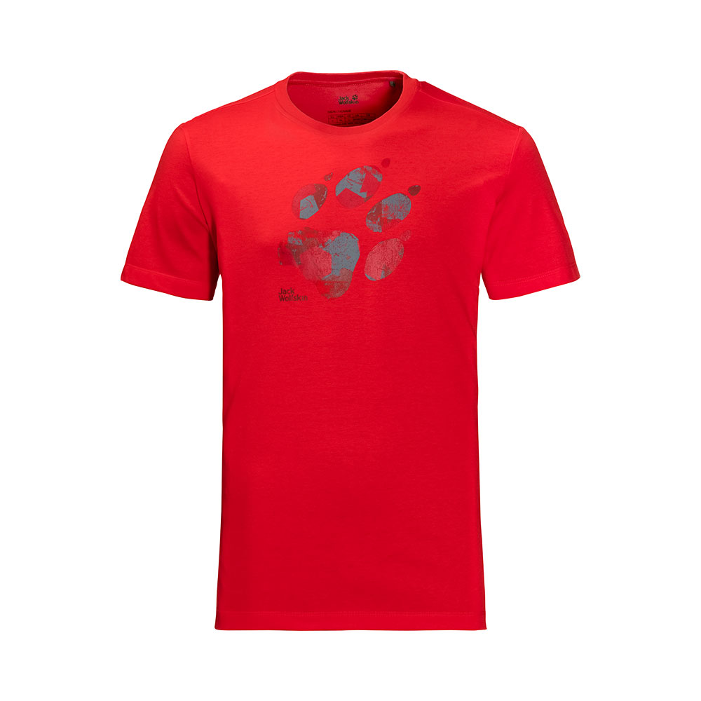 Jack Wolfskin M's Marble Paw T-Shirt