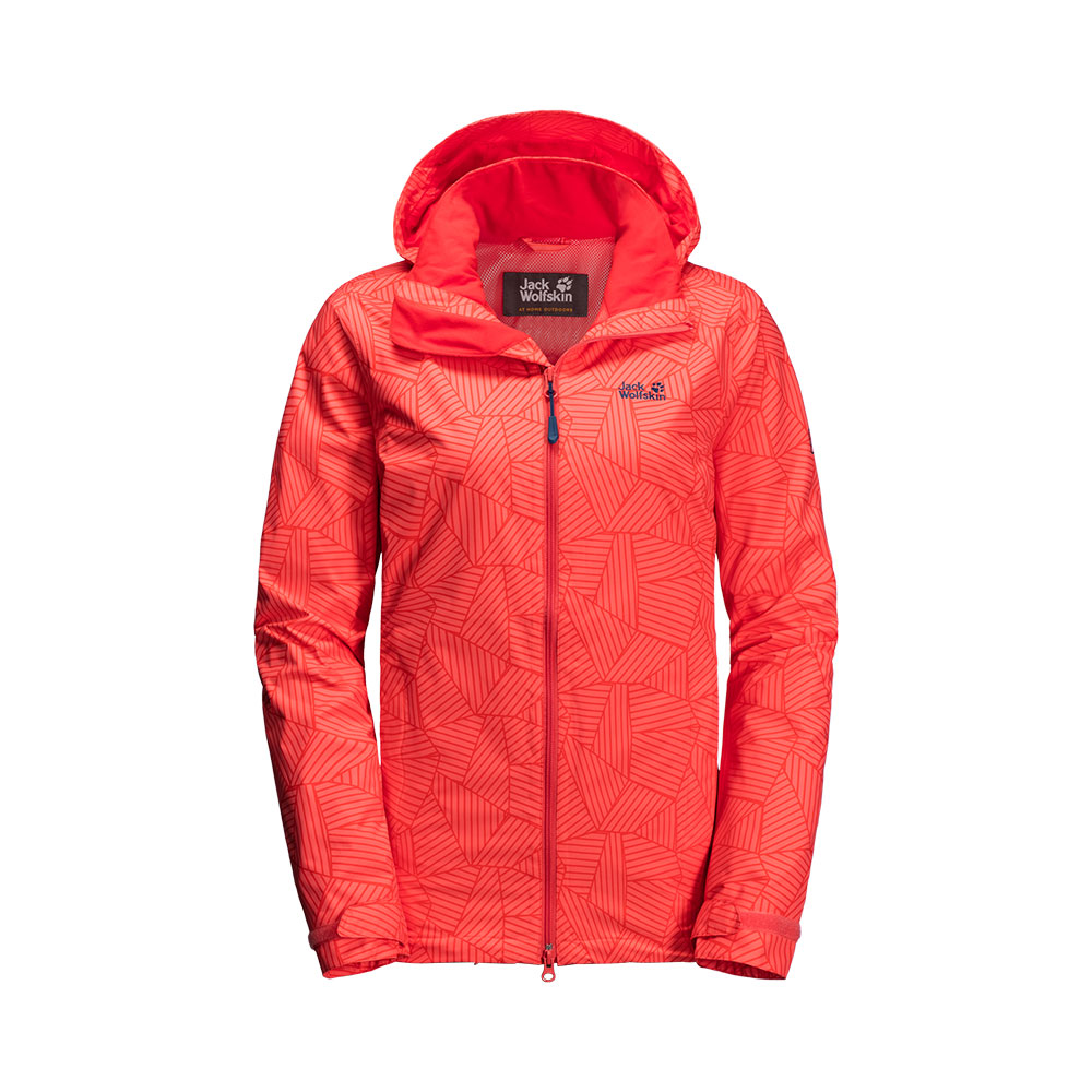 Jack Wolfskin W's Forest Leaf Texapore Jacket