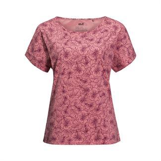 Jack Wolfskin W's Hibiscus Flower T-shirt