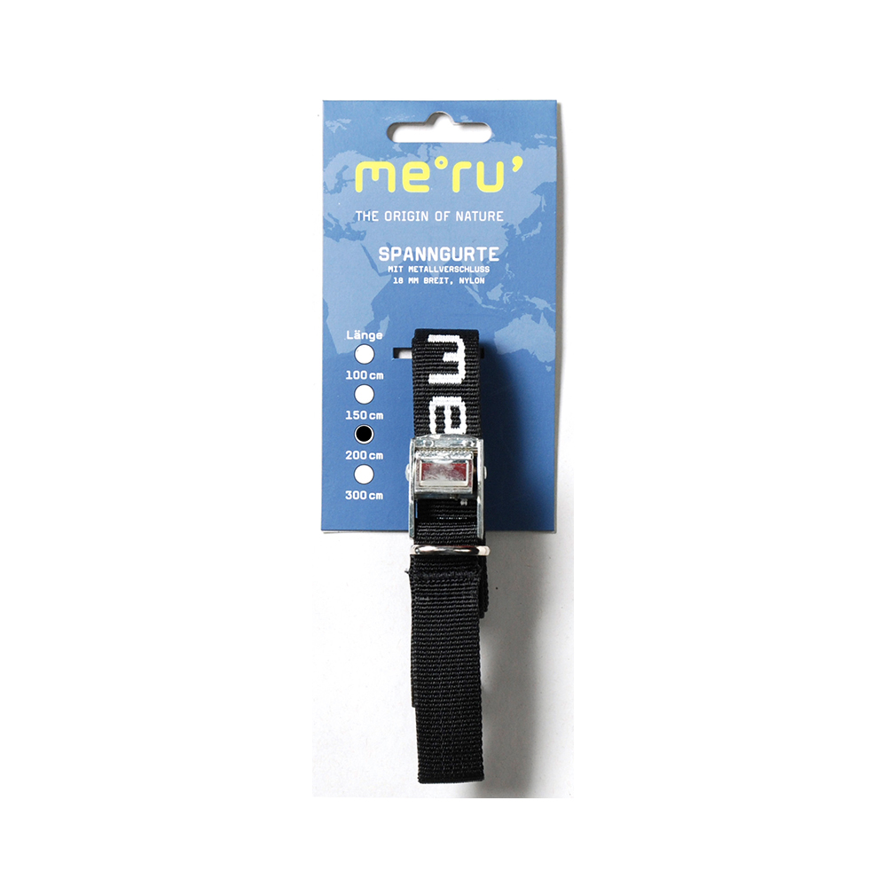 Meru 200cm Packing Strap Metal Buckle PP 18mm