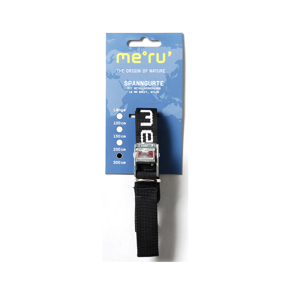 Meru 300cm Packing Strap Metal Buckle PP 18mm