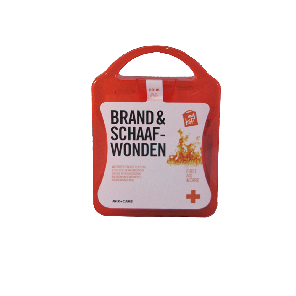 My Kit First Aid&Care: Brand & Schaafwonden