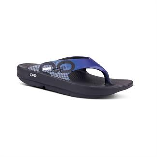 OOfos M's OOriginal Sport slippers blue