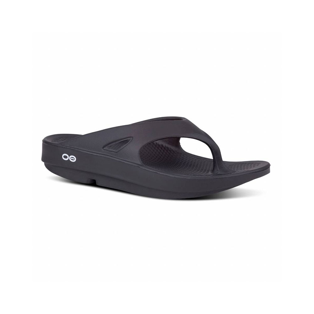 OOfos OOriginal Unisex slippers Black