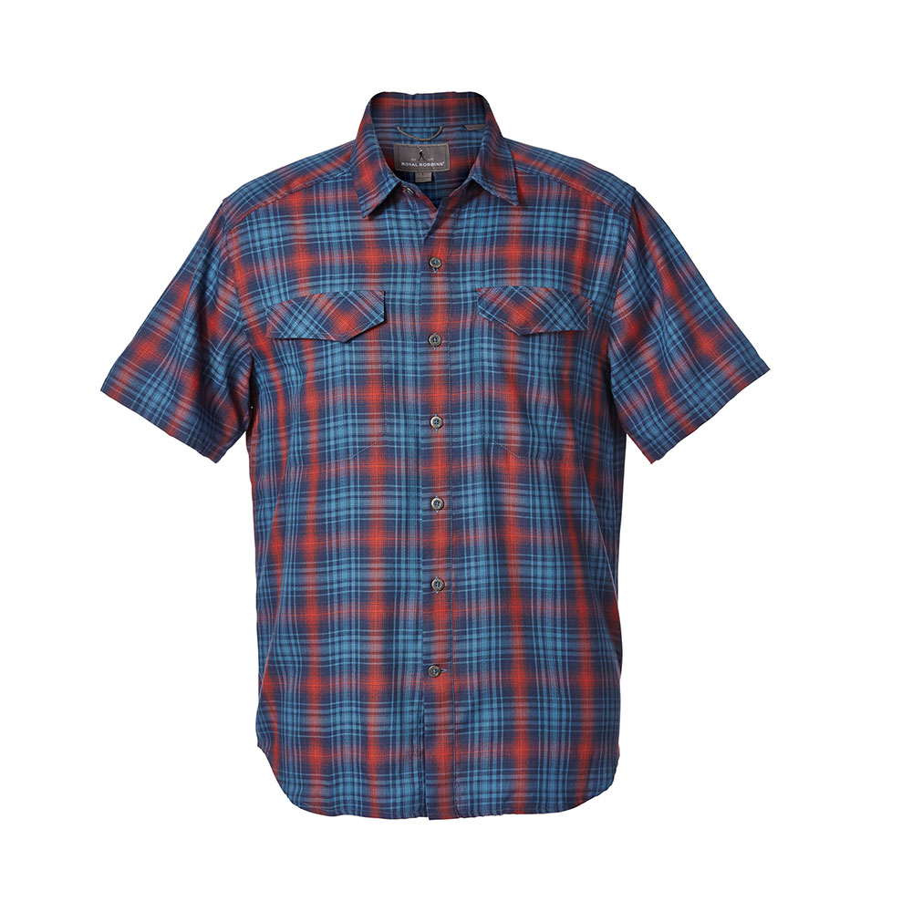 Royal Robbins M's Merinolux Plaid S/S