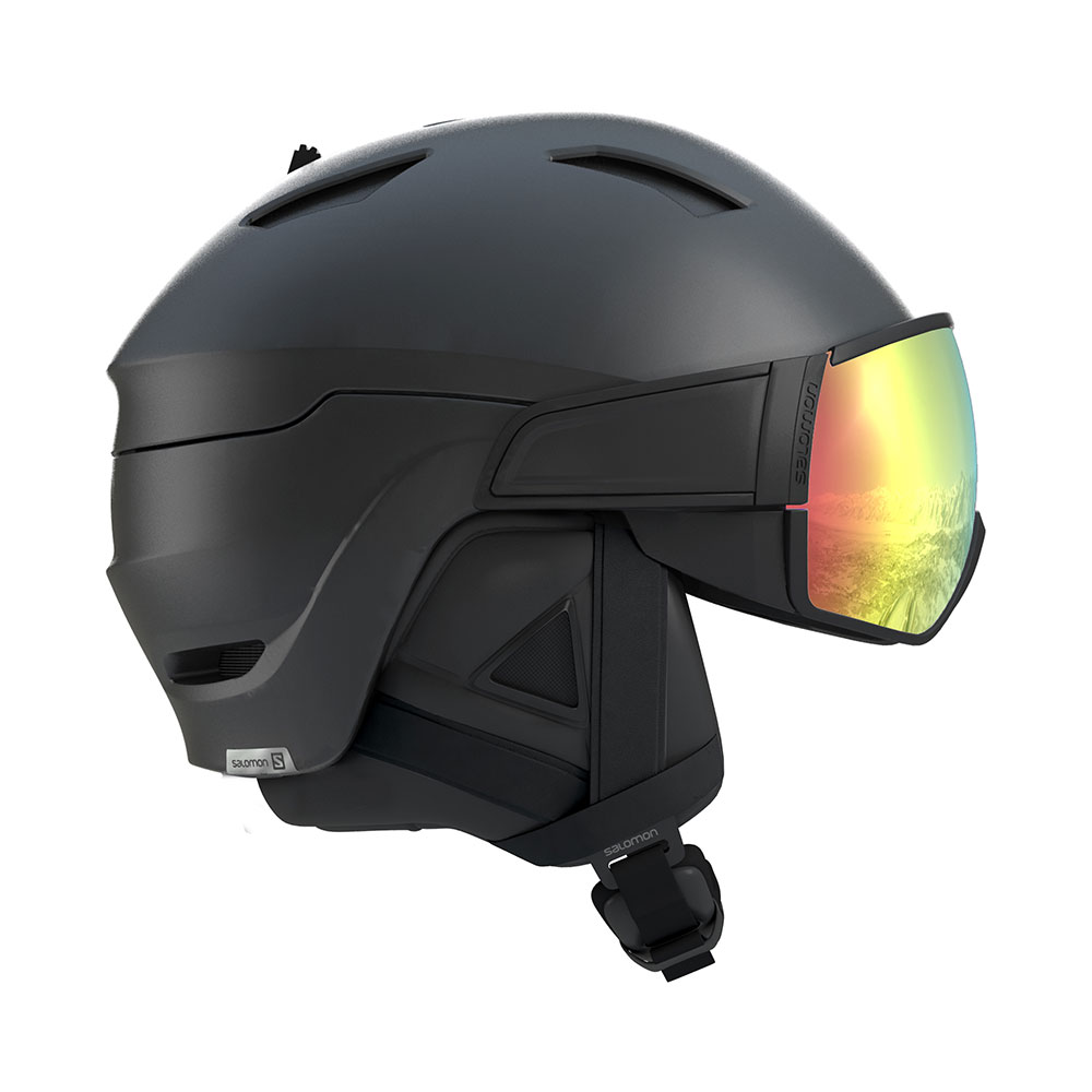 Salamon M's Driver+ Photo skihelm met vizier