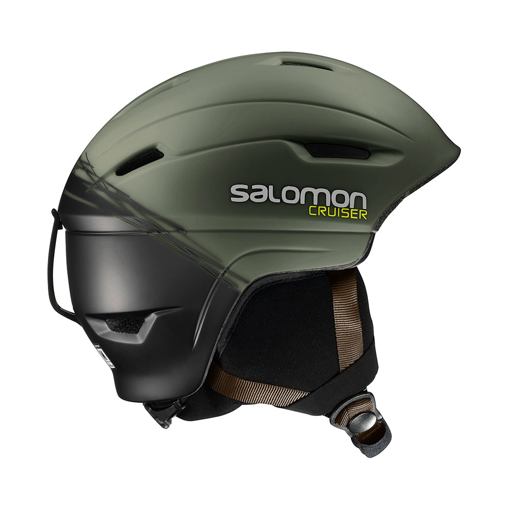 Salomon Cruiser 4D skihelm Swamp/Black