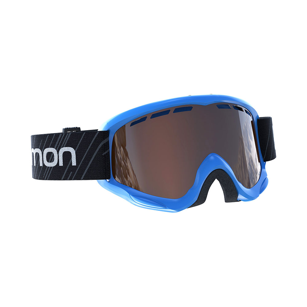 Salomon Juke Access Blue/Sol. Orange skibril