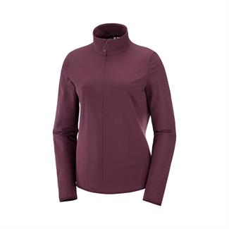 Salomon Outrack HZ Fleece Jacket Dames