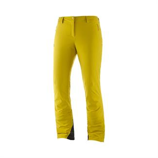 Salomon W's Icemania golden palm ski-broek