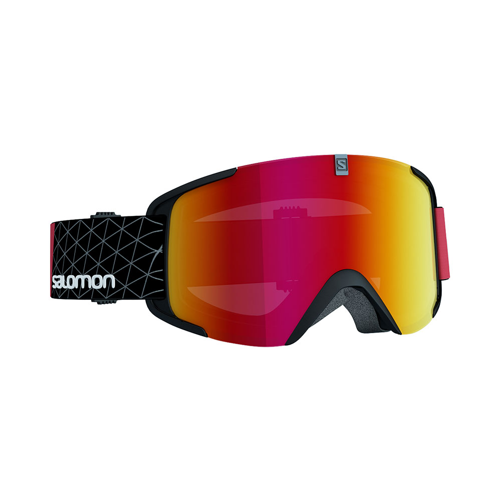 Salomon Xview black-red skibril