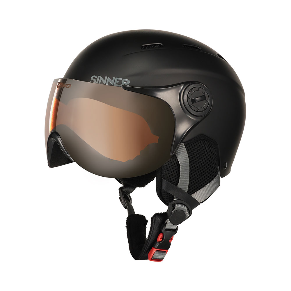 Sinner K's Poley Visor Skihelm