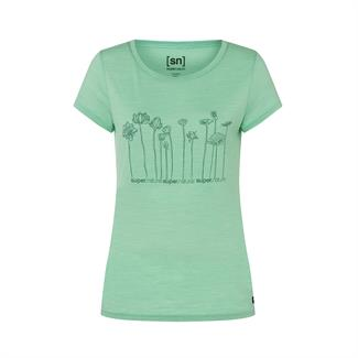 SuperNatural Lotus Tee dames