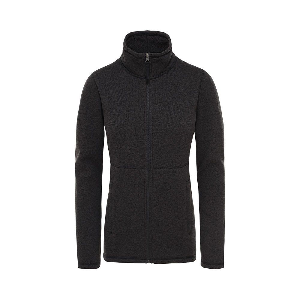 The North Face W's Crescent Full-Zip Fleece Jacket